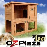Rabbit Guinea Pig Hutch Cage