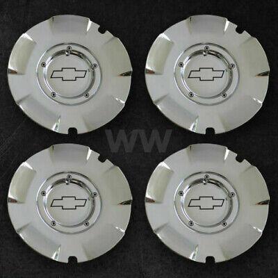 Chevy Silverado Suburban 1500 chrome SET OF 4 wheel center cap hubcap 5243