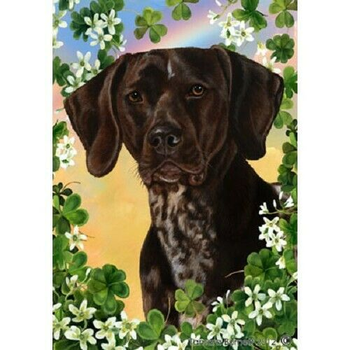 Clover House Flag - German Shorthaired Pointer 31049