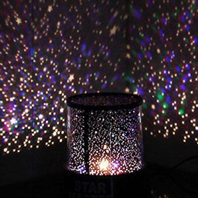 Amazing LED Colorful Star Master Sky Starry Night Light Motion Projector Lamp