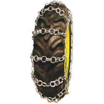 Rud Double Ring Pattern 9.5-24 Tractor Tire Chains - Nw732-2cr