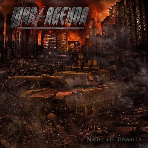 WAR AGENDA Night Of Disaster CD (o134a) 162985