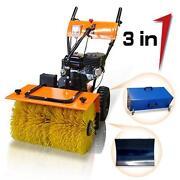 Schneefräse Kehrmaschine
