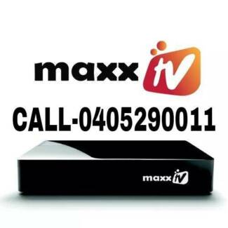 MAXX TV / REAL TV/LIVE TV PRO  hd for indian channels