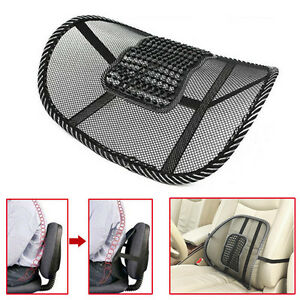 Office Auto Car Seat Chair Massage Cushion Mesh Lumbar Back Brace