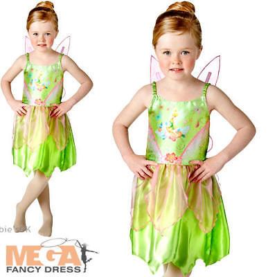 irls Fancy Dress Peter Pan Disney Fairy Kids Childs Costume (Tinkerbell Classic)