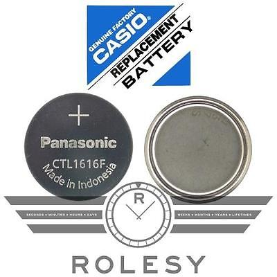 Panasonic CTL1616 Solar Capacitor Rechargeable Battery f/ Casio G-Shock Pro Wave