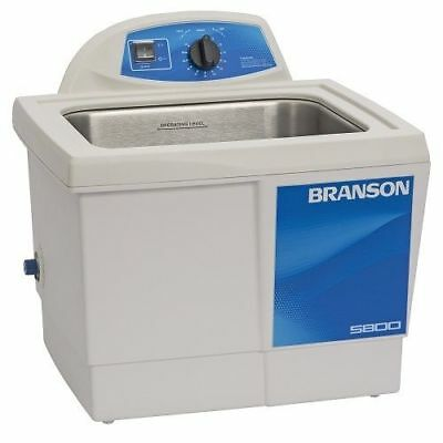 Branson M5800h 2.5g Ultrasonic Cleaner W Mechanical Timer Heater Cpx-952-517r