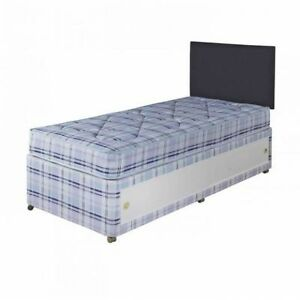 Made to measure divan bed mattress bespoke size single for Single divan bed with slide storage