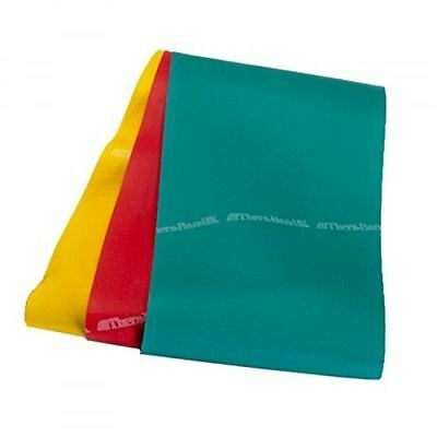 Latex Resistance Bands - TheraBand Professional Latex Resistance Bands YELLOW-RED-GREEN- 4 Foot Set