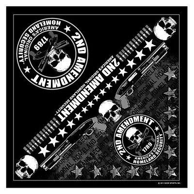 Biker Chopper Security Skull Shotgun Totenkopf Bandana Tuch Kopftuch Halstuch