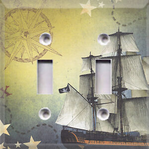 Pirate Ship Light Switch Cover Home Decor Choose Your Plate