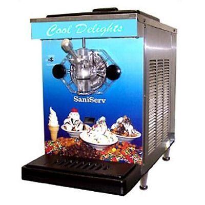 Saniserv - Df200 - 7 Qt Soft Serve Ice Cream Machine Frozen Yogurt Local Pickup