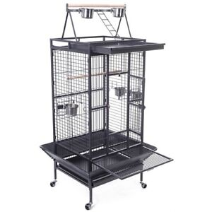 X-large play top parrot cage