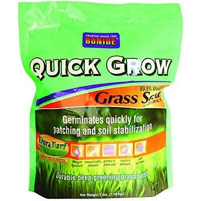 (Bonide 60261 Quick Grow Grass Seed, 3-Pound)