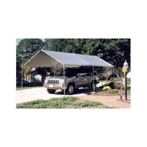 Steel carport kits construction ebay 3 car metal garage kits