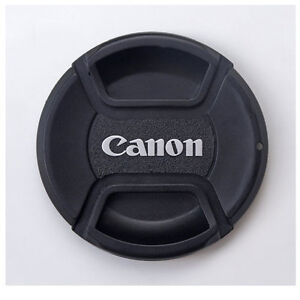 center pinch 67mm canon lens cap for 18 135mm 17 85mm