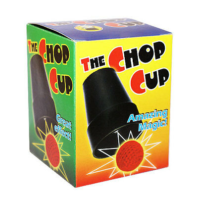 Chop Cup Magic Trick - Beginners Chop Cup With Crochet Balls - Magnetic Cup  Chop Cup Balls