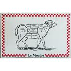 Le mouton Emaille bord