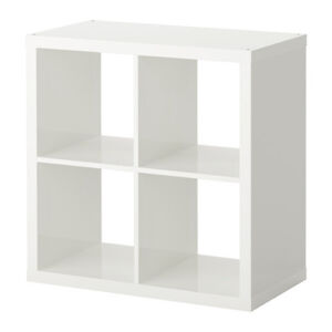 Looking for white or pink Kallax shelving unit