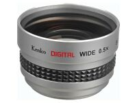 Kenko SGW-05 0.5x Wide Angle Conversion Lens (37mm Thread)