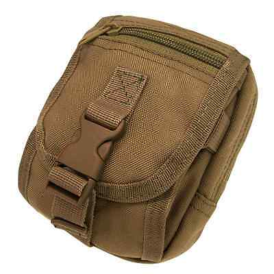 Condor MA26 COYOTE BROWN Tactical MOLLE PALS Gadget Tool Camera Cell Phone Pouch