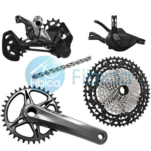New 2021 Shimano XTR M9100 Full Group Groupset 1x12-speed 170/175mm 30/34t