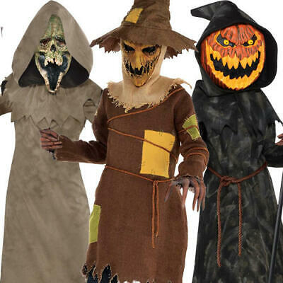 Fairy Tale Horror Boys Fancy Dress Goosebumps Ghouls Kids Halloween Costumes