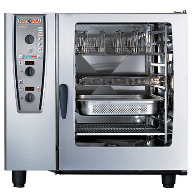 Rational Model 102 A129106.43.202 Electric Combi Oven With Ten Full Size Sheet