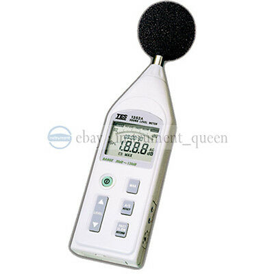 Tes-1352s Digital Programmable Sound Level Meter Noise Tester 30 To 130db