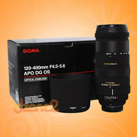 Sigma 120-400mm lens in great condition