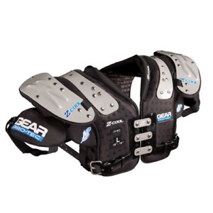 Gear Pro-Tec Z-COOL QB/DB/WR Football Shoulder Pads, X-Large