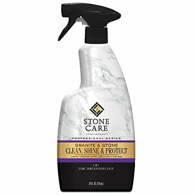 Stone Care International Granite & Stone Clean, Shine & Protect Spray, 24 fl oz