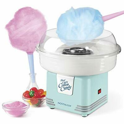 Nostalgia Retro Hard And Sugar Free Countertop Cotton Candy Maker Includes 2 ...