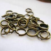 Antique Bronze Jump Rings