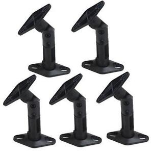 5 Pack Lot Universal Wall Ceiling Satellite Speaker Mount Brackets Home Theater