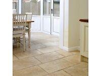 Travertine tiles 5.3 m2