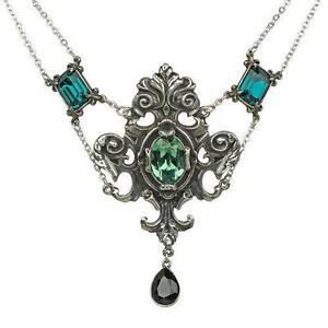 Antique necklace ebay antique emerald necklace aloadofball Gallery