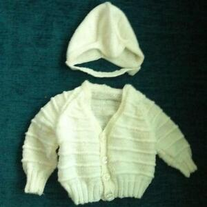 a55fe5316f Hand Knitted Baby Cardigans