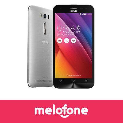 "Asus ZenFone 2 Laser ZE550KL 16GB 5.5"" 4G Silver Unlocked Smartphone NEW"
