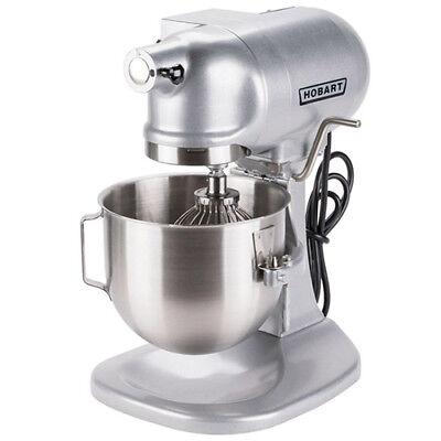 Hobart N50-60 Heavy-duty Countertop 5 Quart 3 Speed Commercial Mixer