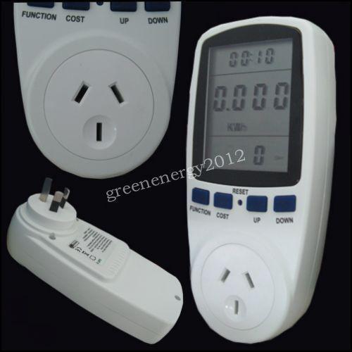 Rv Power Meter : Plug in volt meter ebay