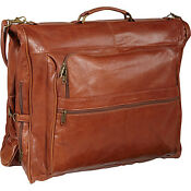 Suit Leather Garment Bag