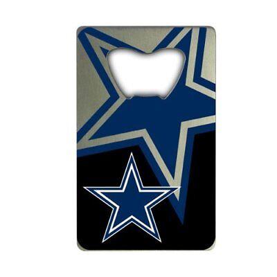 Dallas Cowboys Bottle Opener Metal Credit Card Design USA (Dallas Cowboys Credit Card)