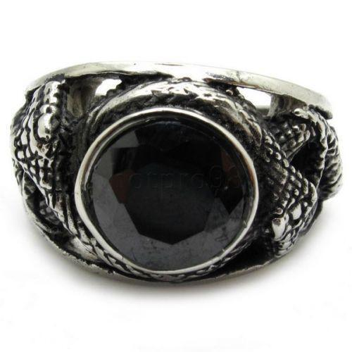 Mens snake ring ebay for Do pawn shops buy stainless steel jewelry