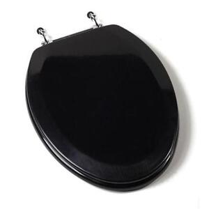 Elongated Toilet Seat EBay - Black elongated toilet seat cover