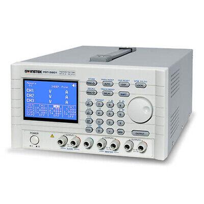 Instek Pst3202gp Triple-output Dc Power Supply 32v2a X2 6v5a X 1 Wgpib