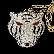 Tiger Head Necklace