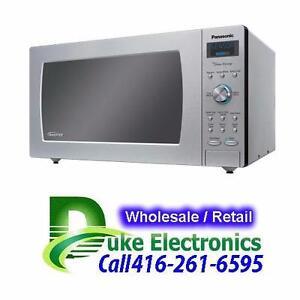 50% OFF Panasonic 2.2 Cu.Ft. Microwave NNSD980S Stainless Steel