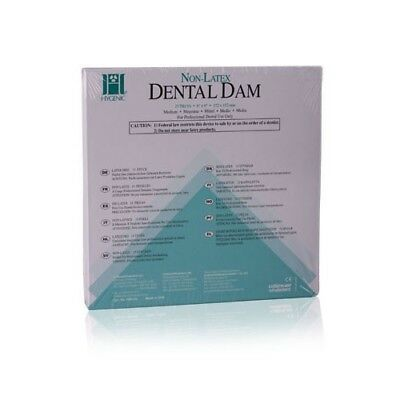 Hygenic Non-latex Dental Dam 6x6 Medium Gauge Teal Green 15box Coltene